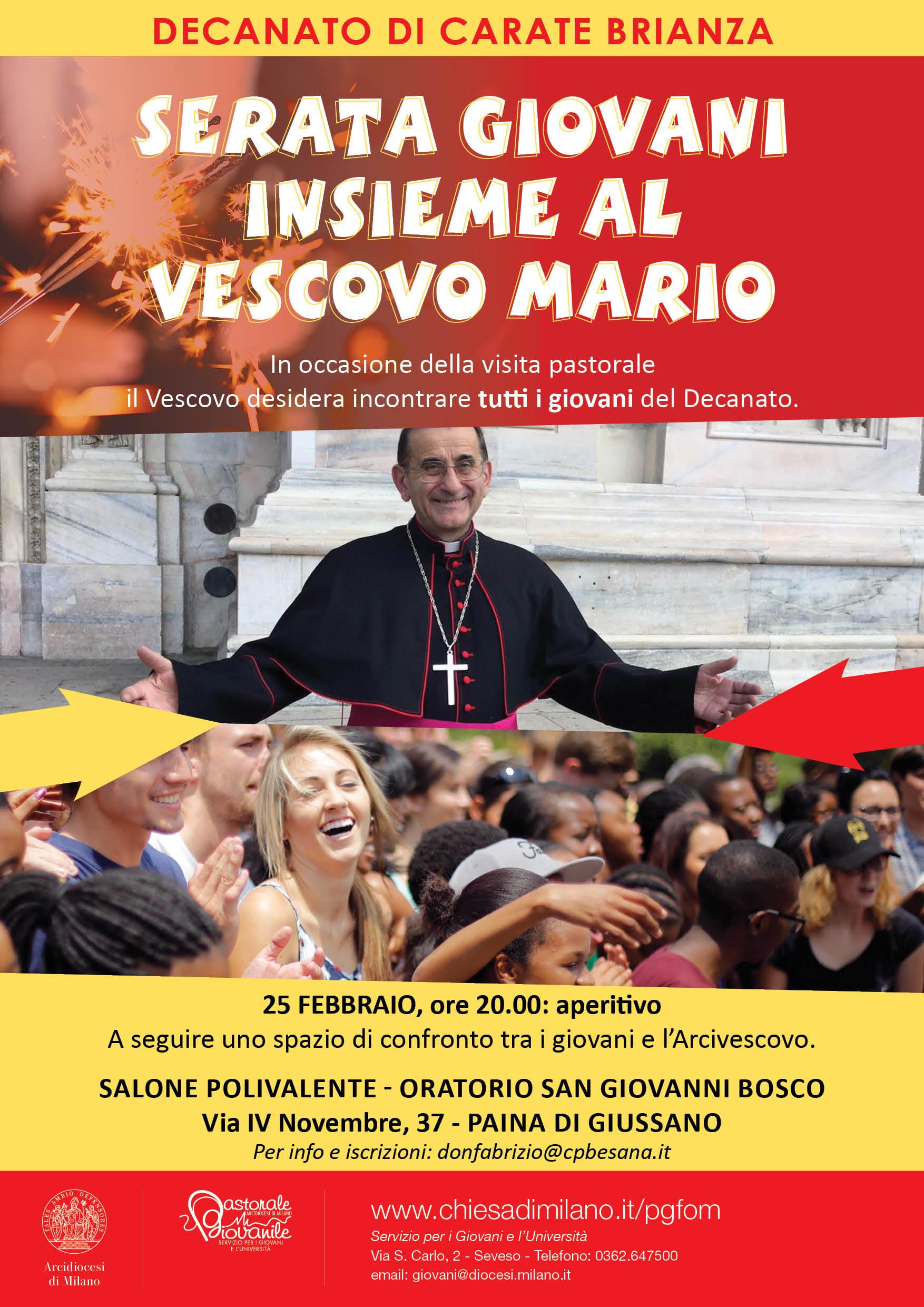 manifesto visita pastorale CARATE